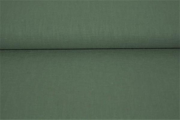 Leinen uni (moos) - 3350