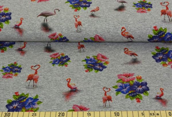 Flamingo (hellgrau meliert) - B863
