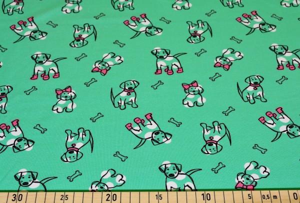 Funny Pups (grün) - I295
