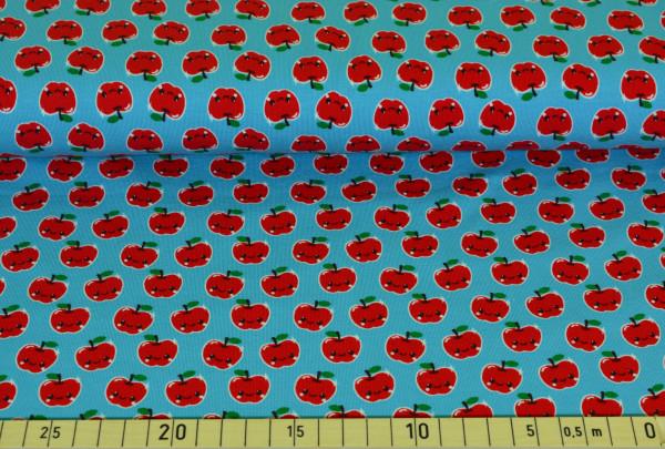 Äpfel (hellblau) - A178