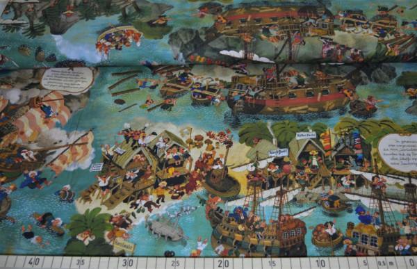 Wimmelbuch (Piraten) - A396 (Baumwolle)