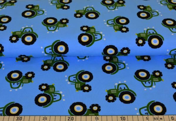 Traktor (hellblau) - I160
