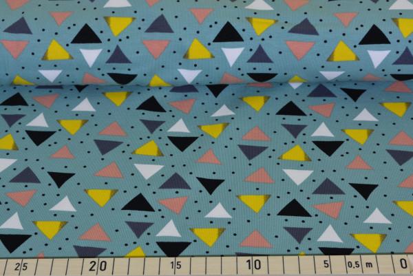 Traumspiel (Dreiecke mint) - B996