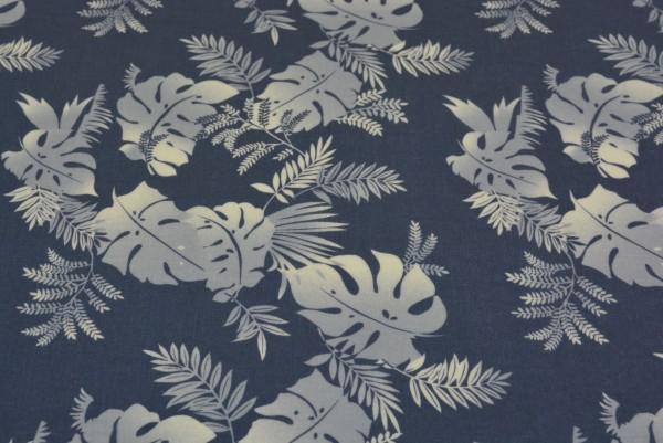 Blätter (grau) - X004