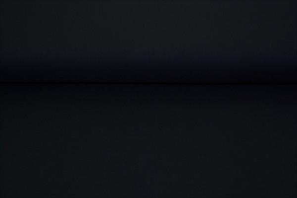 Baumwolle uni (schwarz) - 0150