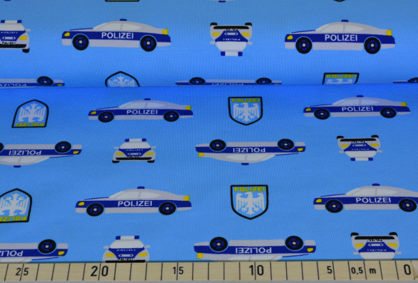 Policecars (hellblau) - I282