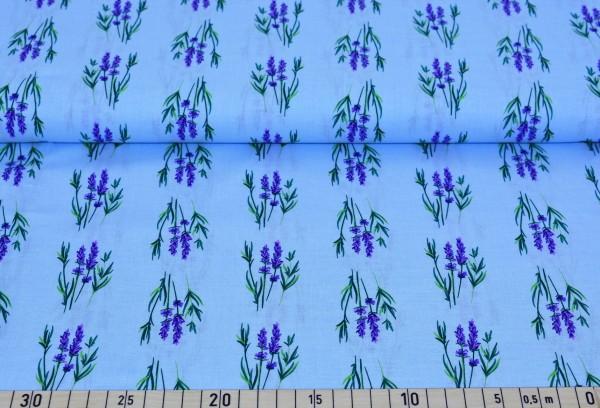 Lavendel + Zweig (blau) - A486