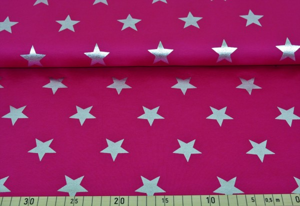 silver star Metallic (pink) - Z214