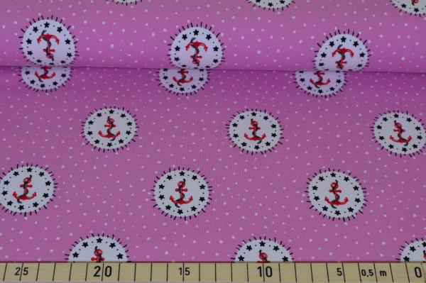 Anker Tupfen (rosa) - B1105