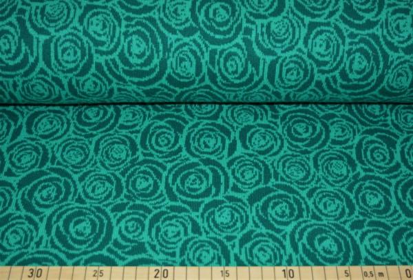 BIO Strick Rosmarie (grün) - B1302