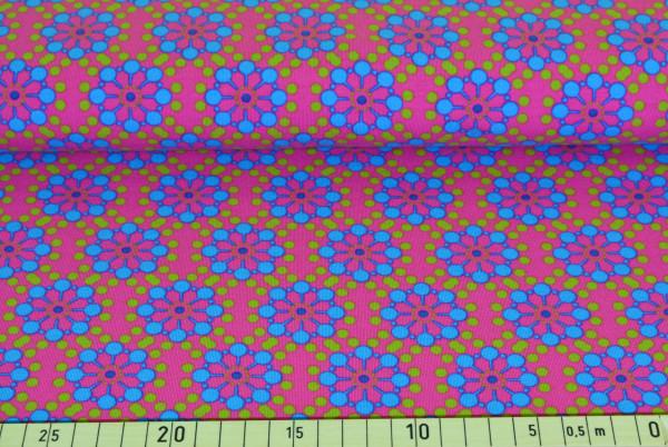 Blumen retro (petrol) - B202