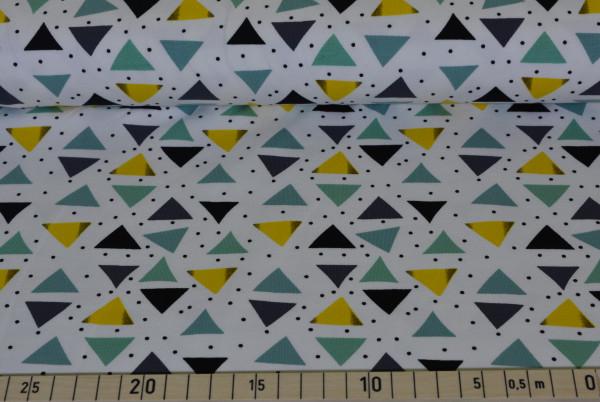 Traumspiel (Dreiecke weiß) - B990