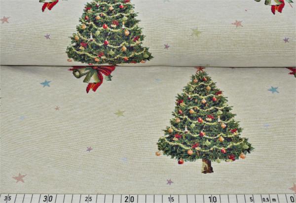 "Gobelin ""Weihnachtsbaum (natur)"" - E307"