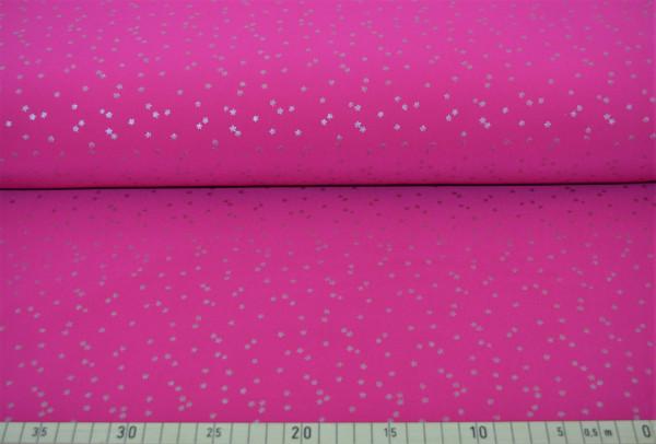 silber Stern (pink) - B447