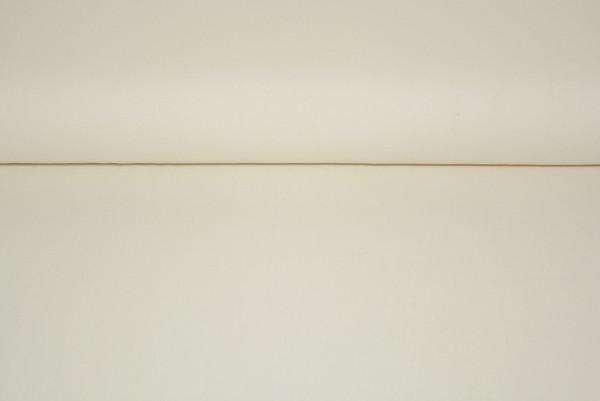 Baumwolle uni (creme) - 0450