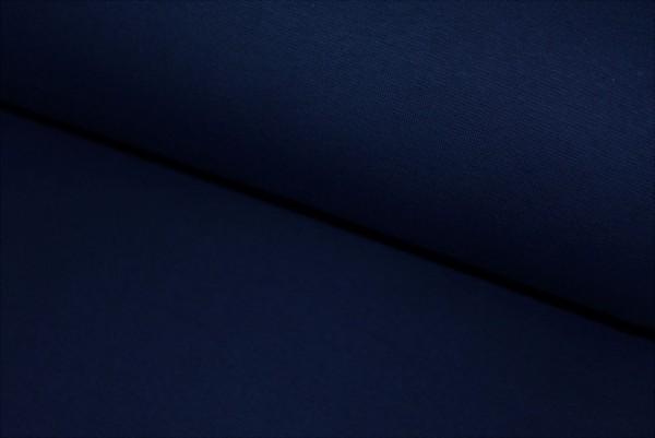 Bündchen uni (dunkel blau)