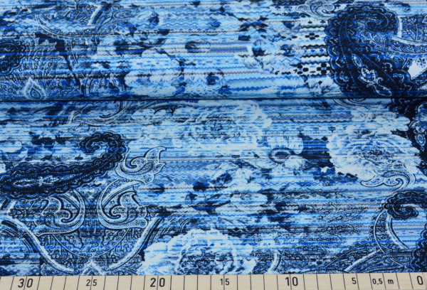 Beatrix (Paisley,blau) - T013