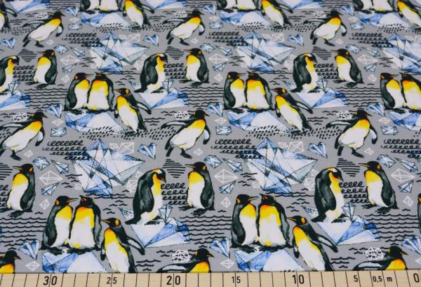 Magnus (Pinguine, Eis, grau) - A582