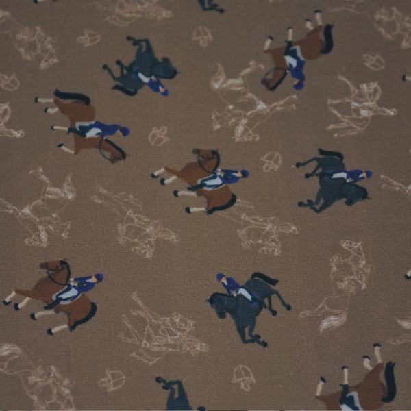 Pferde, Reiter, Baumwolle, natur