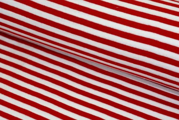 Bündchen Streifen (rot) - Z158