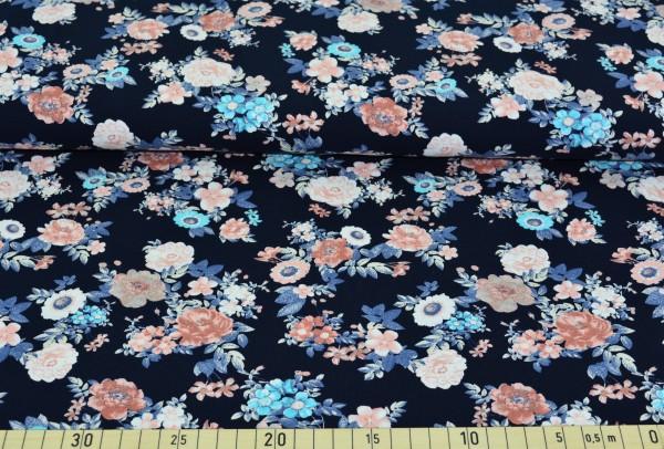 Blumengesteck klein (marine) - B1253