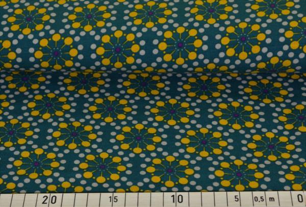 Blumen retro (beige) - B199