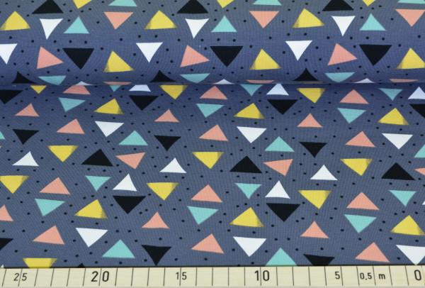 Traumspiel (Dreiecke grau) - B999
