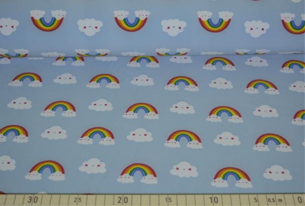 Regenbogenwolke (hellblau) - B483