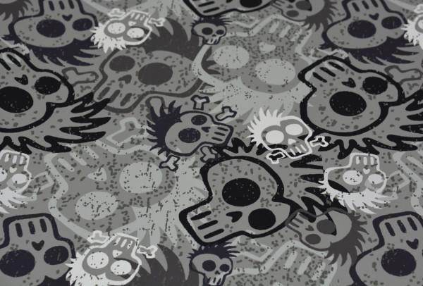 Halloween Skulls - A531 (Sweat Shirt)