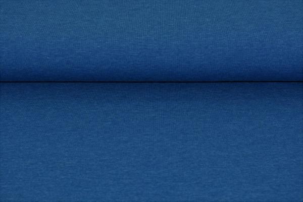 Baumwoll Jersey uni (jeans meliert) - 2840
