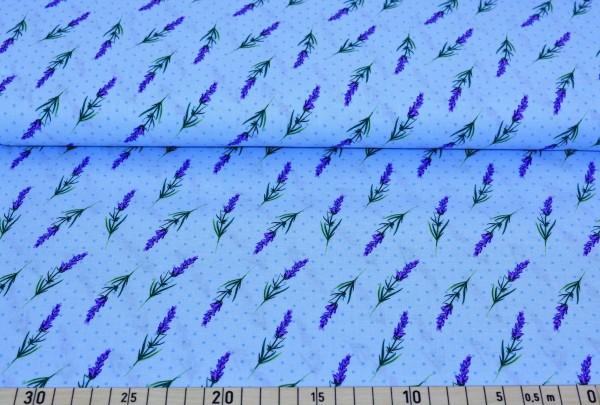 Lavendelzweig (blau) - A485