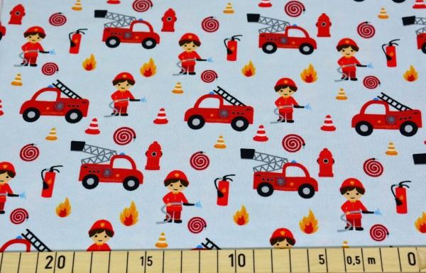 kleiner Feuerwehrmann (grau) - B1357