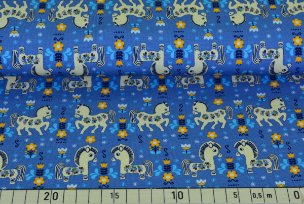 Retro Einhorn (jeans) - B643