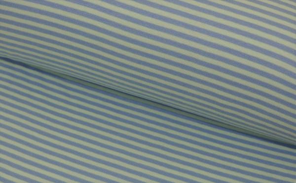 Bündchen Ringel (mint/blau) - Z622