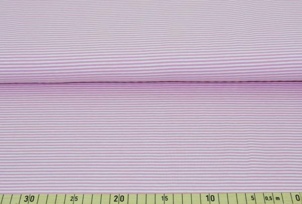 Anker + Streifen (Ringel, rosa,Kombistoff) - B314