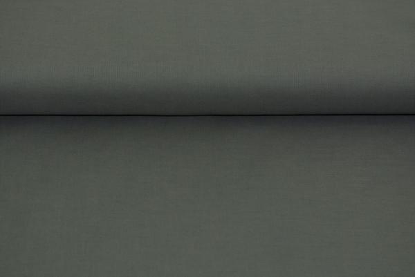 Baumwolle uni (dkl. grau) - 0270