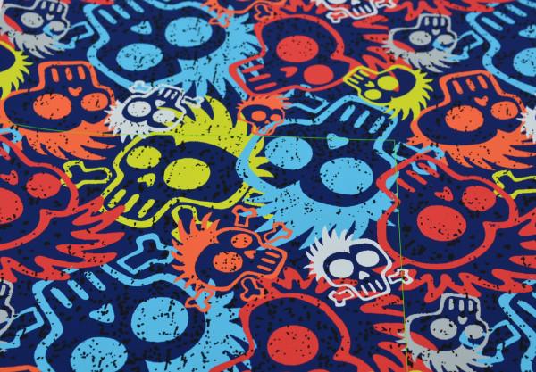 Halloween Skulls - A529 (Sweat Shirt)