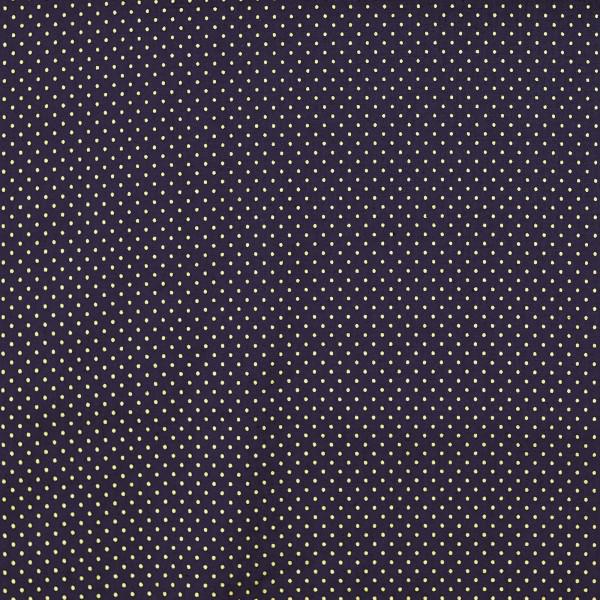 Sterne (Weihnachten, Punkte, Tupfen, Baumwolle) - Z808