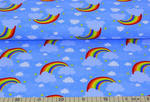 behind the rainbow (blau) - A293