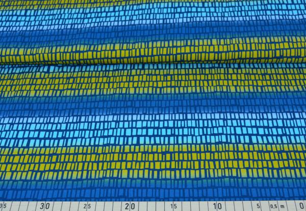 """Squares n Stripes (senf) """"Blaubeerstern"""" - H221"""