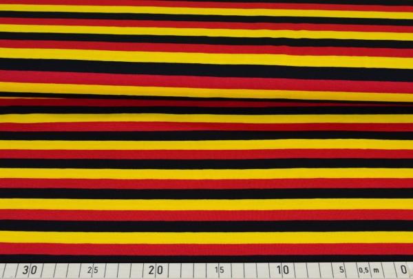 Streifen (schwarz,rot,gold) - B224