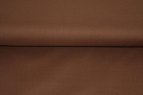 Baumwolle uni (braun) - 0750