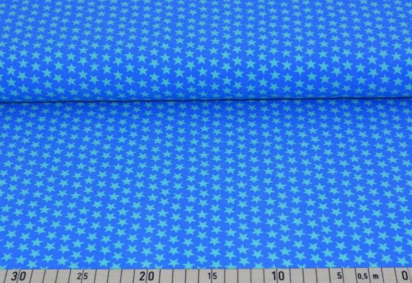 Sternchen (blau/grün) - B351