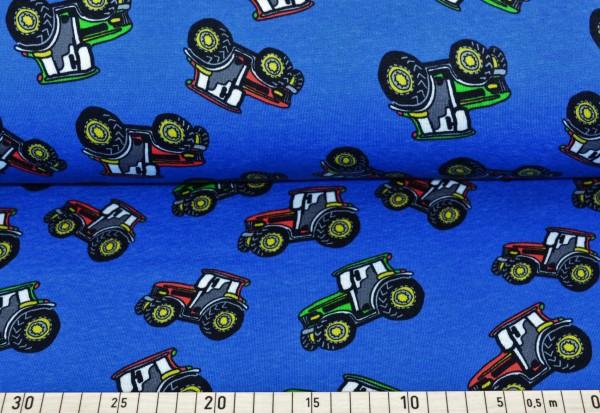 Traktor (blau) - B914 (Sweat Shirt)