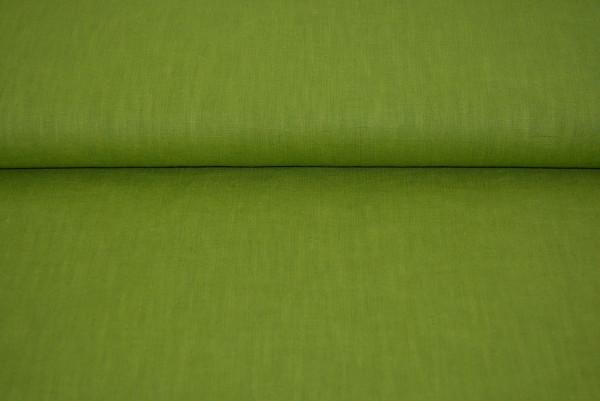 Leinen uni (grün) - 2408