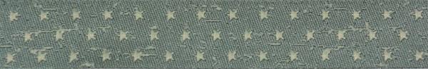 Webband Sterne (hellgrau)