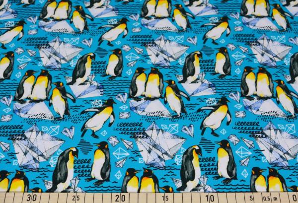 Magnus (Pinguine, Eis, türkis) - A581