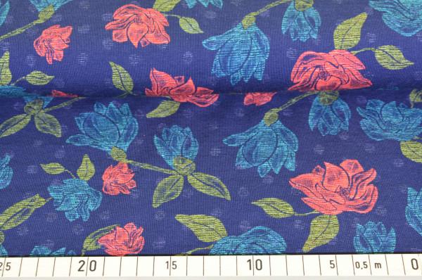 Pastell - Blumen (marine) - A415
