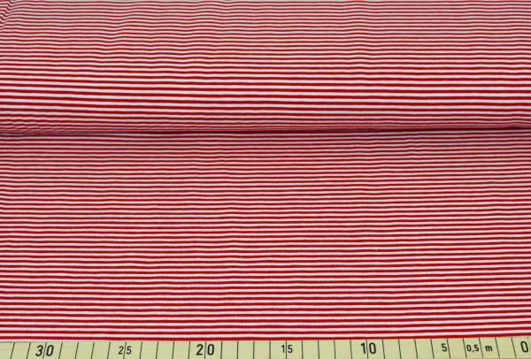 Anker + Streifen (Ringel, rot, Kombistoff) - B316