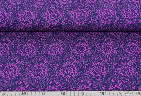 Strickflower (marine,pink) - K162